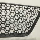 Highly complex automotive grille